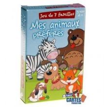 Jeu des 7 Familles -  Mes animaux préférés