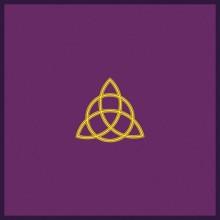 Tapis de cartes violet - Wicca